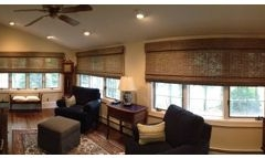 Picture Of Natural Wooden Window Treatment In NJ - Speedwell Design Center