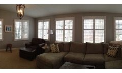 Picture Of Natural Lighting Window Treatment For The Living Room In NJ - Speedwell Design Center
