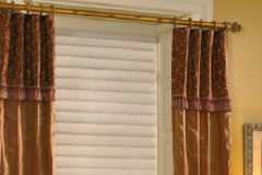 Window With Brown Custom Drapes - Morristown, NJ - Speedwell Design Center