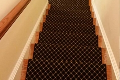 Photo Of Dark Colored Carpets On Staircase - Speedwell Design Center