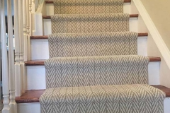 Photo Of Light Colored Carpets On Staircase - Speedwell Design Center