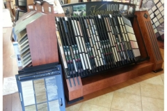 Photo Of Carpet Sample Display In Flooring Store - Speedwell Design Center