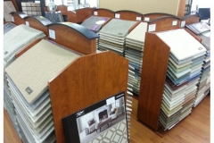 Photo Of Carpet Samples In Flooring Store - Speedwell Design Center