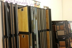 Sustainable Laminate Wood Flooring Samples In NJ Showroom Photo - Speedwell Design Center