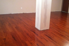 Photo Of Red Hardwood Flooring In NJ Home - Speedwell Design Center