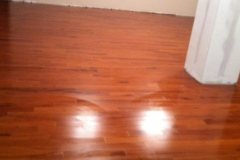 Photo Of Red Toned Hardwood Flooring In NJ Home - Speedwell Design Center