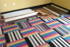 Photo Of Multi-Colored Commercial Carpets - Speedwell Design Center