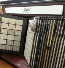 Photo Of Large Display Of Carpet Samples In Flooring Store - Speedwell Design Center