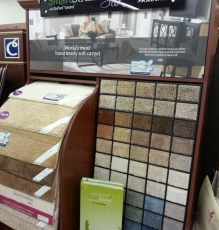 Brown-Toned Carpet Samples Image - Speedwell Design Center