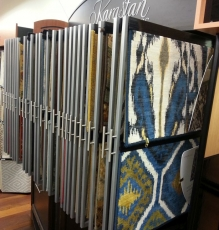 Photo Of Ikat Patterned Carpet Squares - Speedwell Design Center
