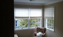 Photo Of Pleated Roller Window Treatment In NJ - Speedwell Design Center