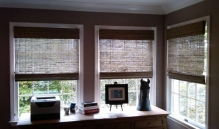 Photo Of Natural Grasses Window Treatment In NJ - Speedwell Design Center