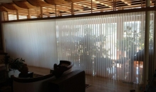 Picture Of Vertical Motorized Window Treatment In NJ - Speedwell Design Center