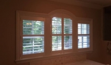 Picture Of Large Horizontal Slatted Window Treatment In NJ - Speedwell Design Center