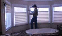 Photo Of A Blinds Installation Professional In NJ - Speedwell Design Center