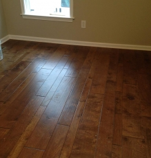 Photo Of Hardwood Flooring With Various Sized Planks In NJ - Speedwell Design Center