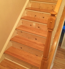 Photo Of Hardwood Flooring On NJ Staircase - Speedwell Design Center