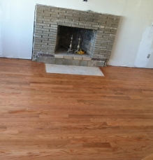 Photo Of Hardwood Flooring And Fireplace In NJ Home - Speedwell Design Center