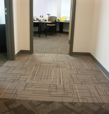 Commercial Carpets, Hallway And Office Photo - Speedwell Design Center