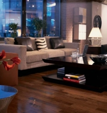 Modern Living Room In NJ With New Hardwood Flooring Photo - Speedwell Design Center