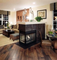 New Home In NJ With New Hardwood Flooring Image - Speedwell Design Center