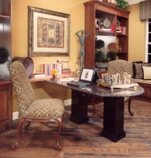 Photo Of Hardwood Flooring In Study In NJ - Speedwell Design Center