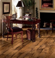 Image Of An Antique Style Hardwood Flooring Installation In NJ - Speedwell Design Center