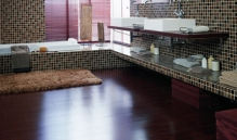 Photo Of Dark Laminate Wood Flooring In NJ - Speedwell Design Center