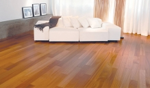 Photo Of Warm Wood Flooring In NJ Living Room - Speedwell Design Center