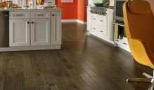Photo Of Dark Laminate Wood Flooring In NJ Kitchen - Speedwell Design Center