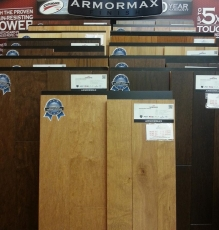Laminate Compared To Wood Flooring Photo In NJ Showroom - Speedwell Design Center