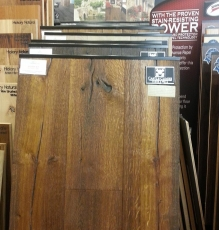 Natural Wood Flooring Sample In NJ Showroom - Speedwell Design Center