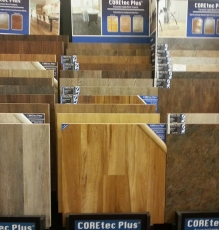 Photo Of Honey Stained Laminate Wood Flooring In NJ - Speedwell Design Center