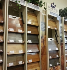 Photo Of Wood Floor Samples In NJ Showroom - Speedwell Design Center