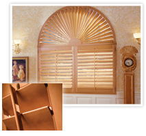 Photo Of A Beautiful Use Of Interior Shutters As Blinds In A Bathroom In NJ - Speedwell Design Center