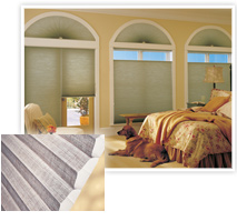 Photo Of Fabric Blinds For The Bedroom Instead Of Metal Blinds In NJ - Speedwell Design Center