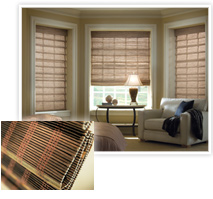 Provenance® Wooden Shades from Hunter Douglas installed by Speedwell Design Center in NJ