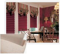 Example of Hunter Douglas' Vignette® Traditional Shades offered by Speedwell Design Center in NJ