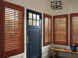Heritance Shutters Handcrafted Entry