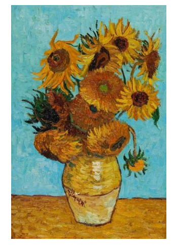 Image Vincent Van Gogh's Sunflower - Speedwell Design Center - New Jersey