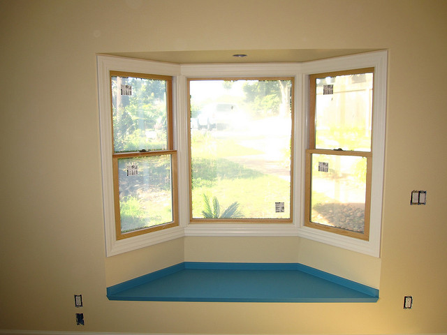 Photo Of Newly Installed Bay Windows - Speedwell Design Center