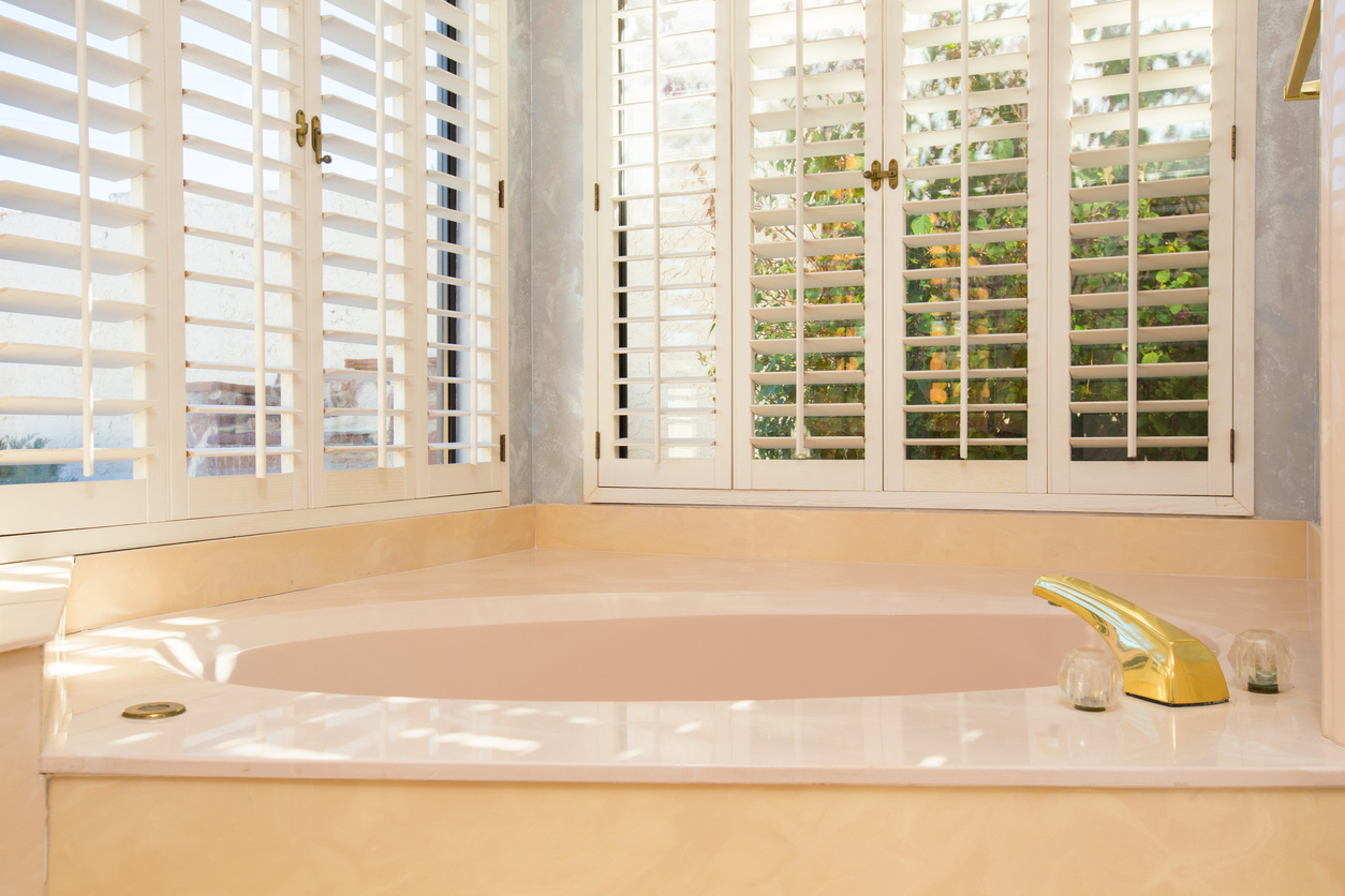 Bathroom With Interior Shutters