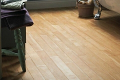 Speedwell Design Center in NJ offers natural wood patterned vinyl flooring which is an inexpensive alternative to hardwood flooring